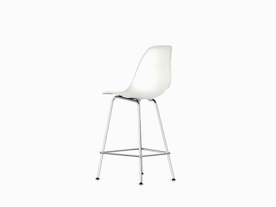 Eames Molded Plastic Stool Counter Height
