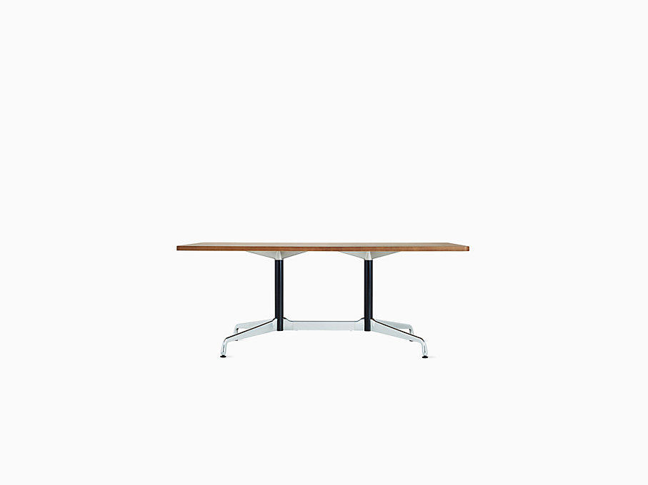 Eames Table with Rectangular Top and Segmented Base