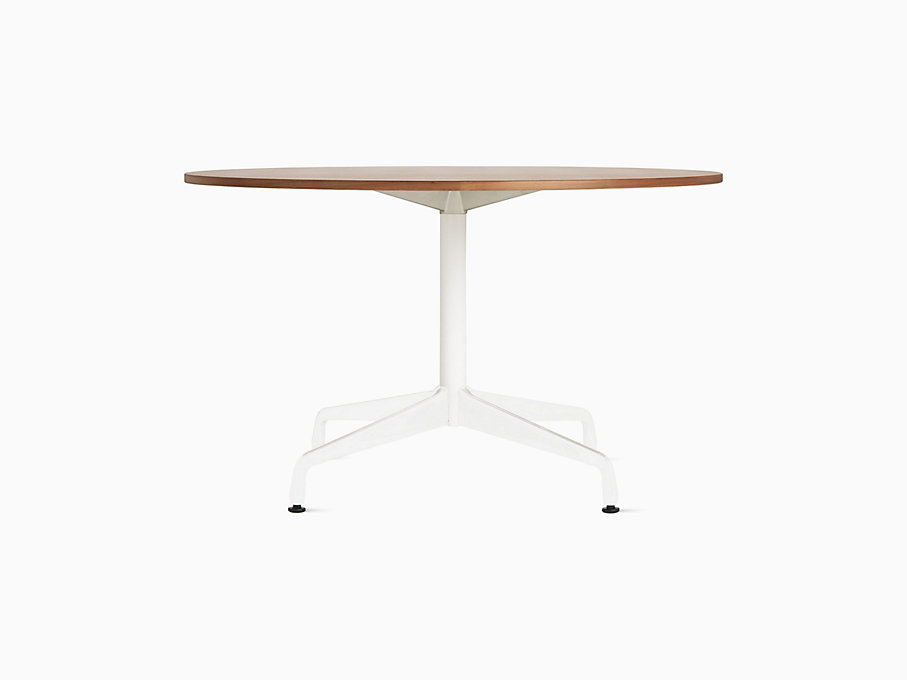 Eames Table with Round Top and Segmented Base
