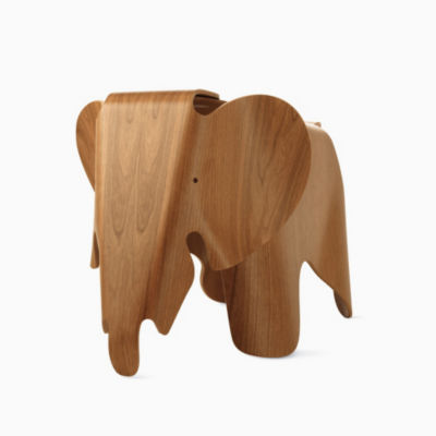 Eames Elephant in Cherry Plywood