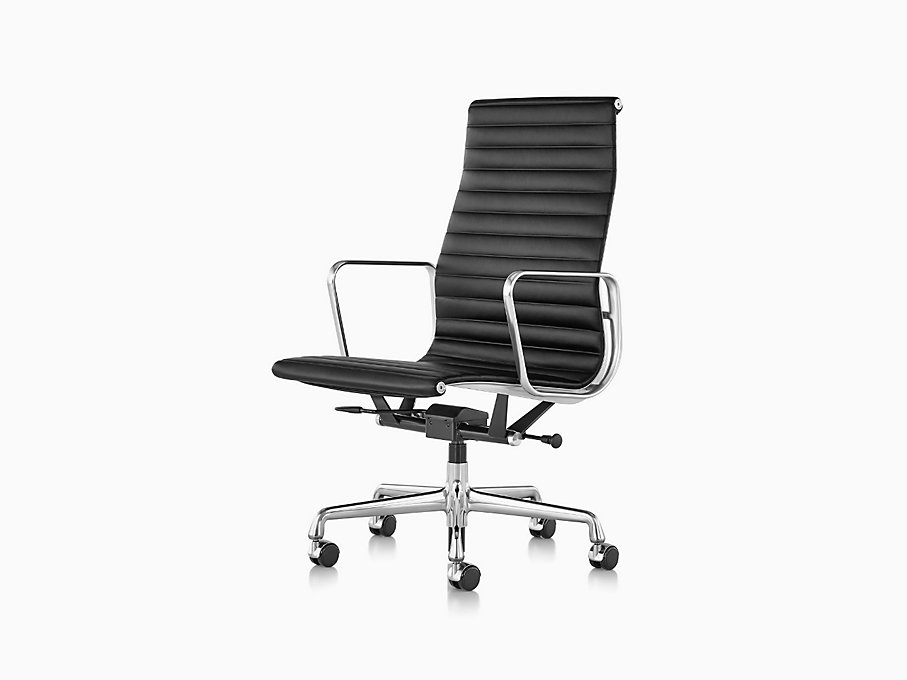Eames Aluminum Group Executive Chair with Pneumatic Lift