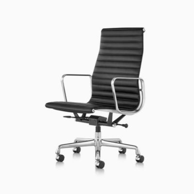 Eames® Aluminum Group Executive Chair with Pneumatic Lift