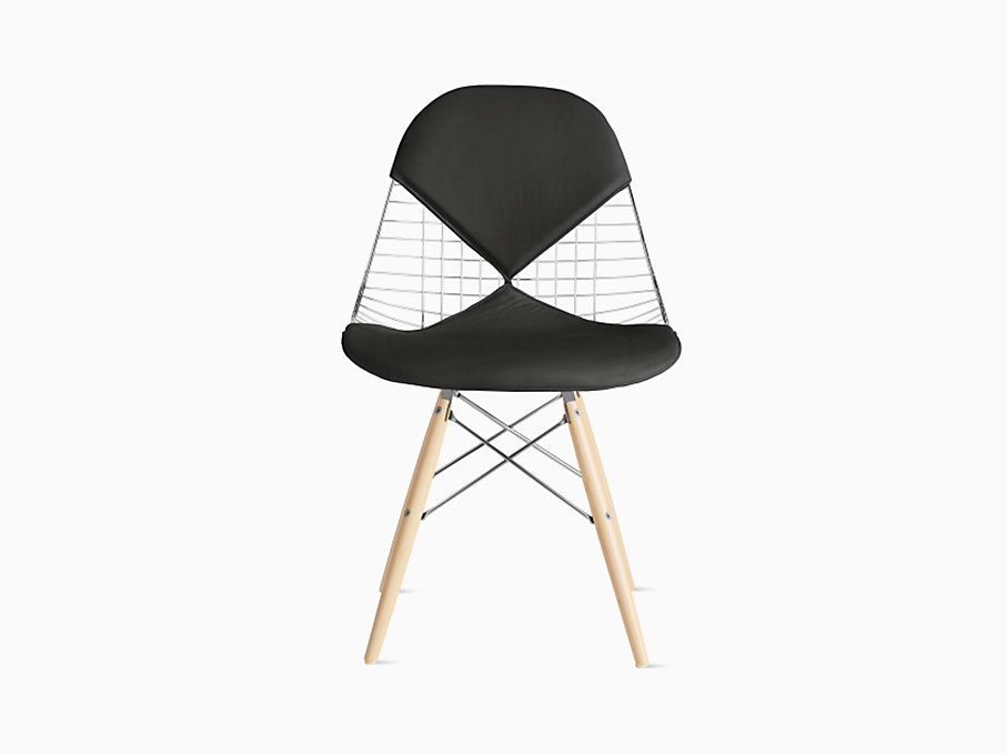 Eames Wire Chair with Bikini Pad Dowel Base