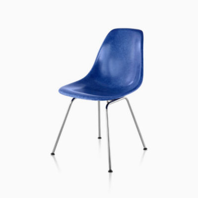 Eames Molded Fiberglass Side Chair 4-leg Base