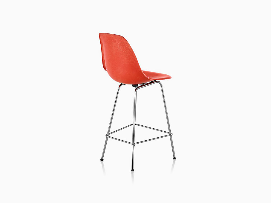 Eames Molded Fiberglass Stool Counter Height