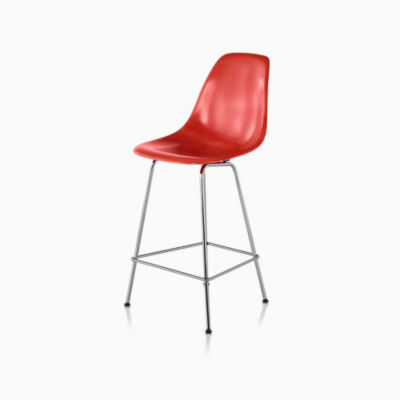 Eames® Molded Fiberglass Counter Stool, DFHCX