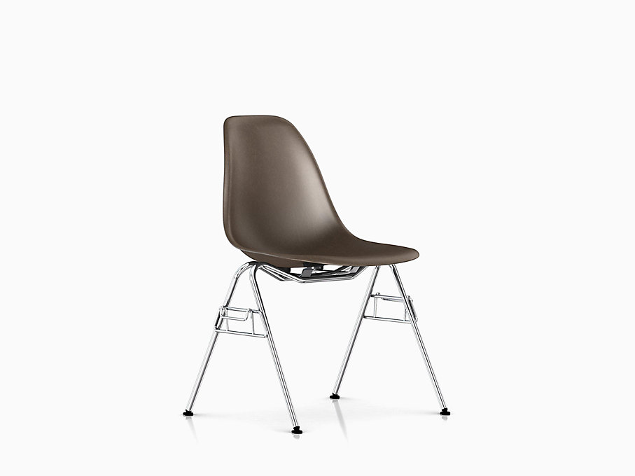 Eames Molded Fiberglass Side Chair Stacking Base
