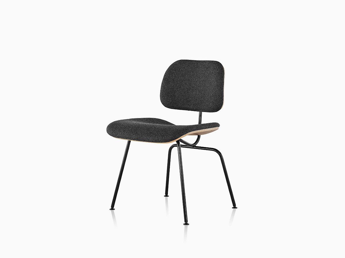 Incredible Eames Molded Plywood Dining Chair With Metal Base Pabps2019 Chair Design Images Pabps2019Com