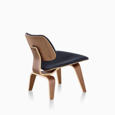 Eames® Upholstered Molded Plywood Lounge Chair (LCW)