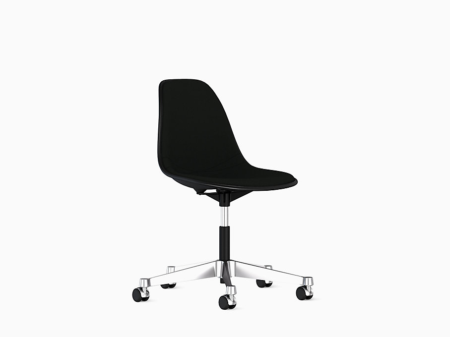 Eames Task Side Chair, Upholstered