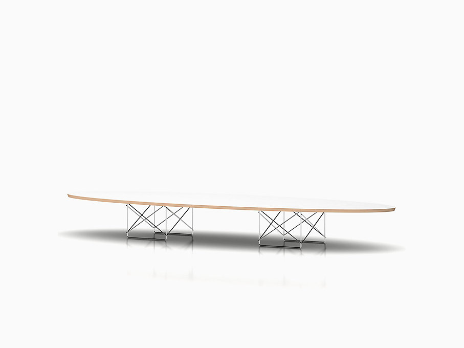 Eames Wire Base Elliptical Table