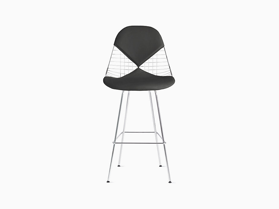 Eames Wire Chair with Bikini Pad Bar Height