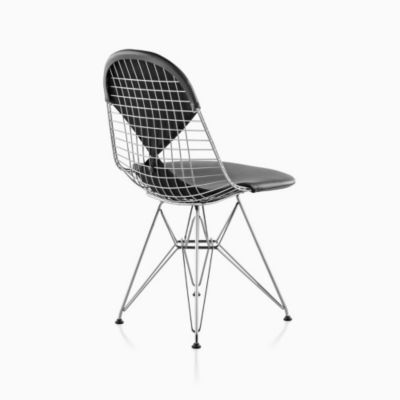 Eames® Wire Chair with Bikini Pad (DKR.2)