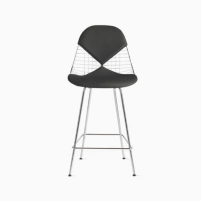 Eames® Wire Counter Stool with Bikini Pad (DKHCX.2)