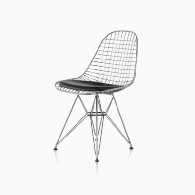 Eames® Wire Chair with Seat Pad (DKR.5)