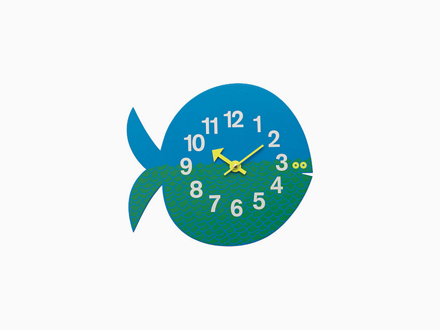 Fernando the Fish Wall Clock