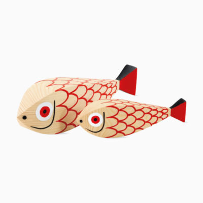Girard® Wooden Fish, Set of 2