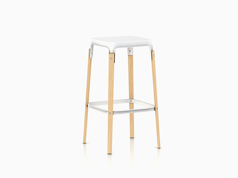 Magis Steelwood Stool Bar Height