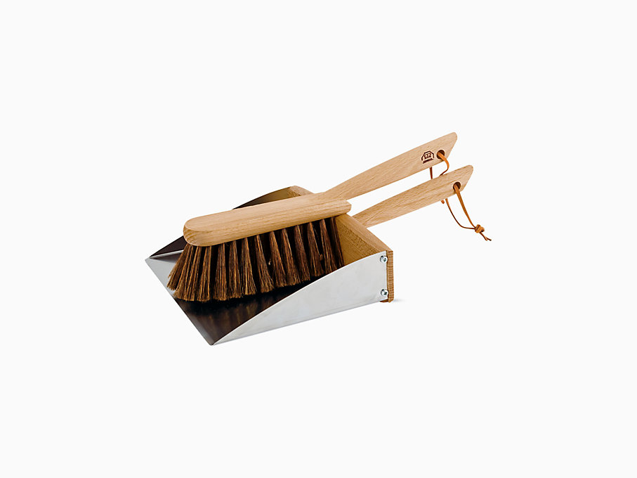 Magnetic Dustpan and Brush