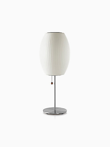 Nelson® Cigar® Table Lamp, Brushed Base