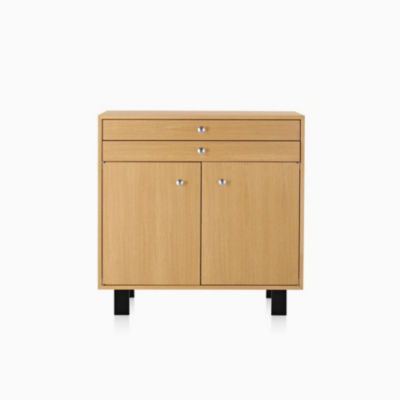 Nelson Basic Cabinet Large 34x40, 2 Drawers Over 2 Doors