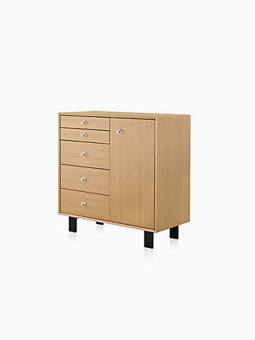 Nelson™ BCS Five-Drawer Cabinet with Door