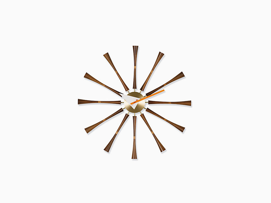 Nelson Spindle Clock