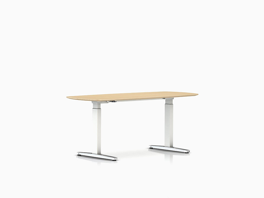 Renew Sit-to-Stand Desk Oval