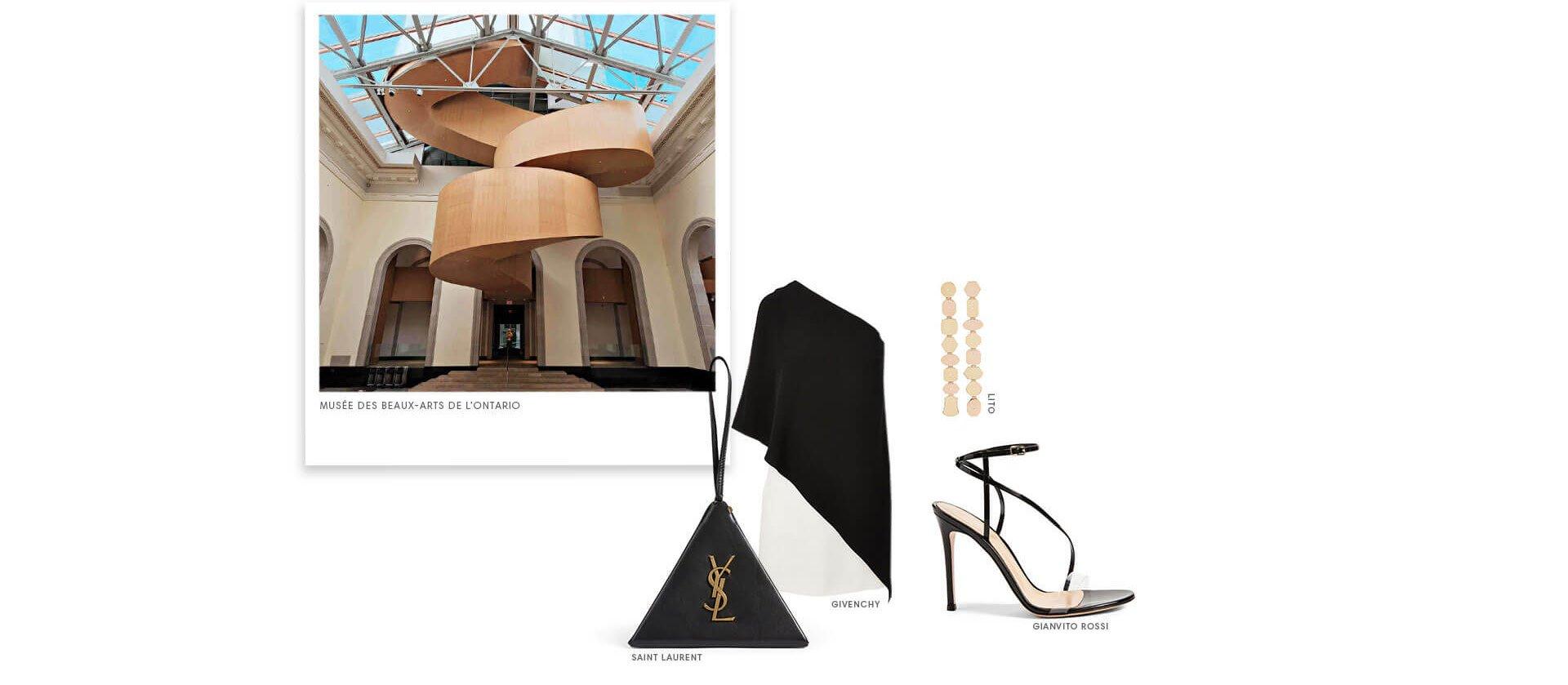 Holt Renfrew Image de Art Gallery Of Ontario. Lito. Sant Luarent. Givenchy. Gianvito Rossi