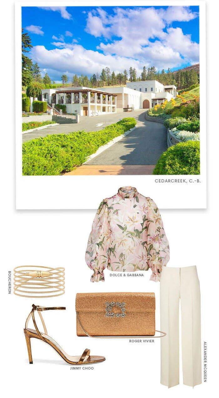 Holt Renfrew Image de Cedar Creek, BC. Dolce & Gabbana.Boucheron. Roger Vivier. Jimmy Choo. Alexander Mcqueen