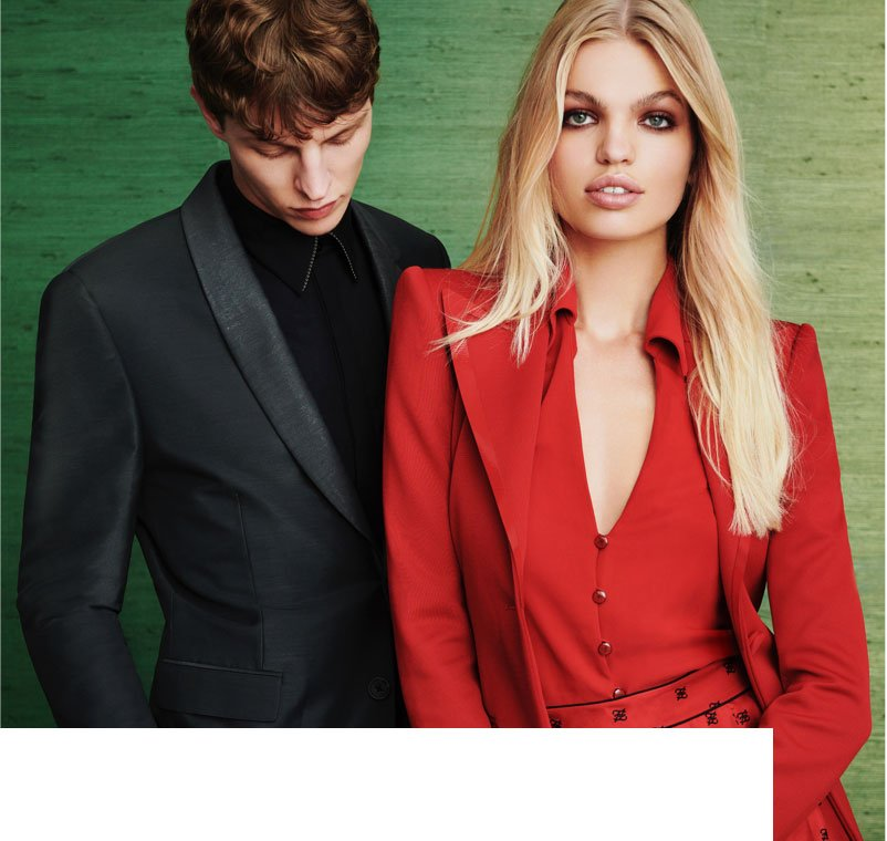 Fendi's latest collections for women and men offer a fresh take on power dressing.