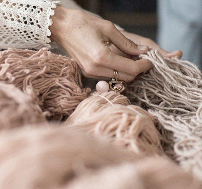 feeling wool