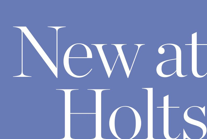 SHOP NEW AT HOLTS