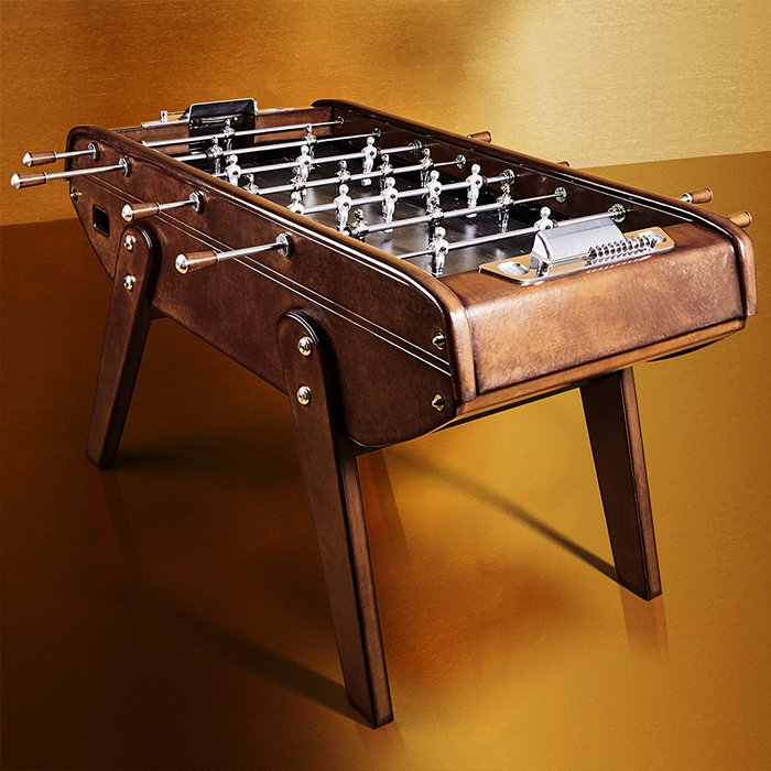 Holt Renfrew image of Day 14. BERLUTI House of Bonzini Foosball Table. $45,000. LEARN MORE