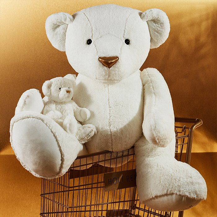 Holt Renfrew image of Day 15. HOLT RENFREW Holiday Bear 2018. Small. $55. Jumbo. $425. In Support Of WWF-Canada. SHOP NOW