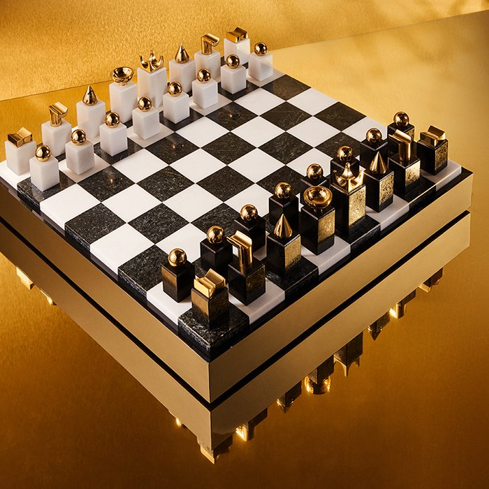 Holt Renfrew image of Day 17. L'OBJET Chess Set. $2275. SHOP NOW