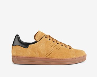 Holt Renfrew image of TOM FORD. Warwick Suede Sneakers. $1070. SHOP NOW