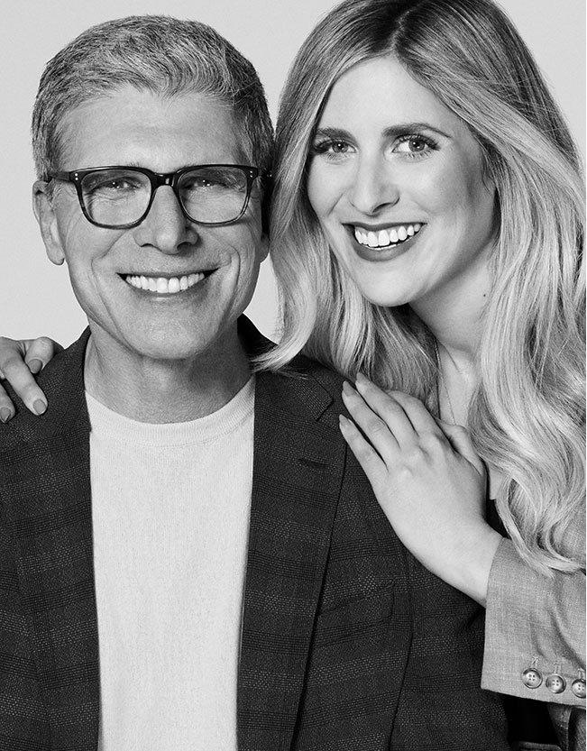 Holt Renfrew image of Nicole Plener, DVP, Marketing & Public Relations, with her dad