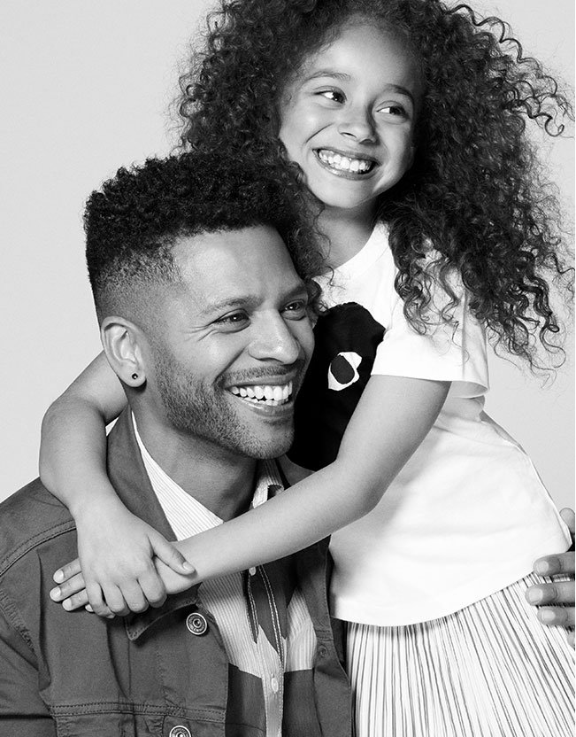 Holt Renfrew image of Jairo Acuna, Analyst, Application Systems, with his daughter