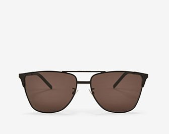 Holt Renfrew image of SAINT LAURENT. SL 280 Aviator Sunglasses. $460. SHOP NOW