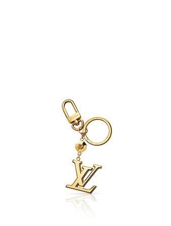 Holt Renfrew image of LOUIS VUITTON LV Facettes Bag Charm & Key Holder $340