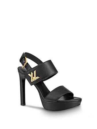 Holt Renfrew image of LOUIS VUITTON Horizon Platform Sandal $1,330