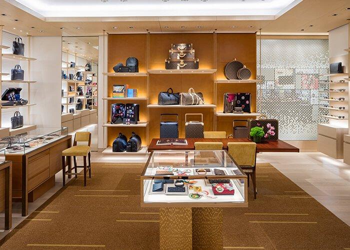 Holt Renfrew Image of Louis Vuitton. Bloor Street.