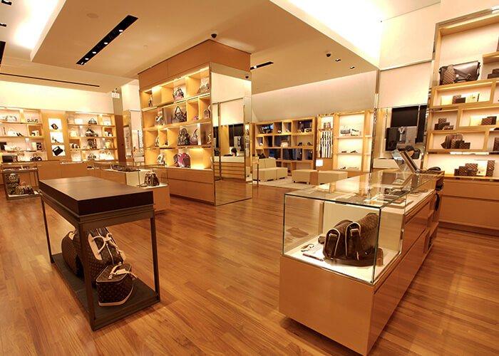 Holt Renfrew Image of Louis Vuitton. Edmonton.