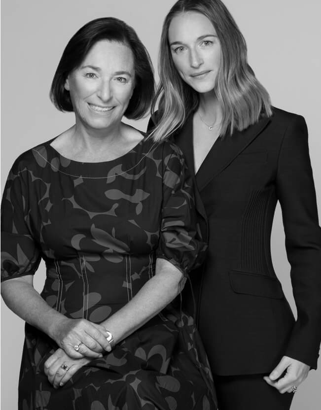 Holt Renfrew image d'un Alexandra Weston, DVP, Brand and Creative Strategy, with her mom