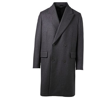 Holt Renfrew image of THE ROW Mickey Cashmere Double-Breasted Overcoat. $7500. FIND IN-STORE