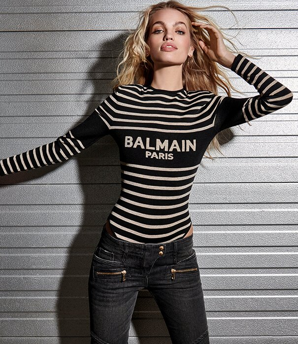Holt Renfrew image of Move to the beat of the music-inspired Parisian Maison . SHOP BALMAIN.