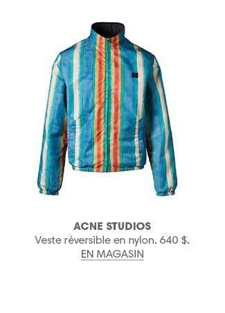 Holt Renfrew image d'un ACNE STUDIOS Veste réversible en nylon. 640 $. EN MAGASIN