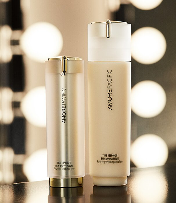 Holt Renfrew image of New Time Response Eye Cream with Green Tea Flower Oil. SHOP AMOREPACIFIC