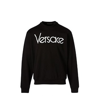 Holt Renfrew image of VERSACE Vintage Logo sweatshirt. $905. FIND IN-STORE
